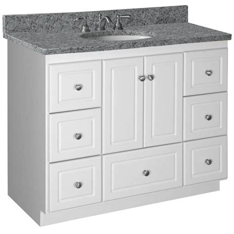 Bathroom Base Cabinets by Strasser Woodenworks Simplicity 43 Quot Single Cabinet