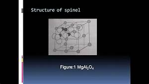 Spinel Structure Mgal2o4
