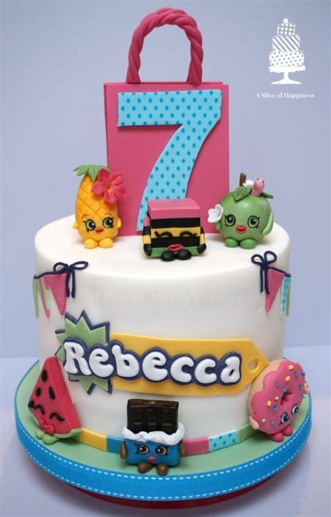 shopkin cake images  pinterest