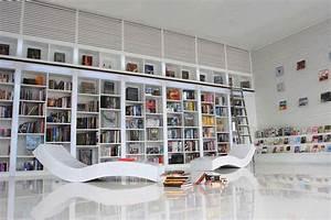 Built In Bookshelves 1200x890 Custom Oak By Nice Looking