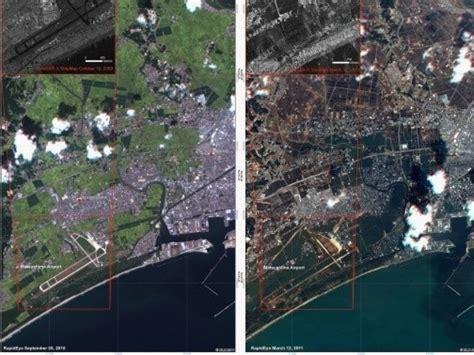 Sona Japon Tsunami Séisme Avant-après