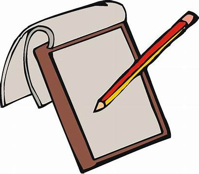 Writing Journal Cliparts Clipart Reflection Clipartmag