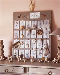 Calendrier De L Avent Maison : un calendrier de l avent en organdi marie claire ~ Preciouscoupons.com Idées de Décoration