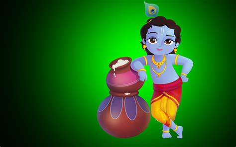 Happy Krishna Janmashtami Hd Cover Picture For Facebook