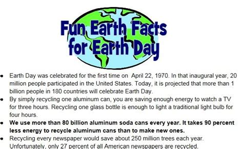 earth day quiz for elementary students 2016 happy