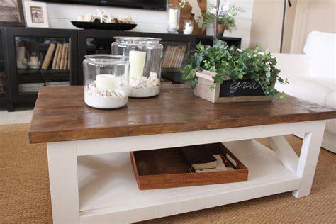 A New Rustic Coastal Coffee Table  Starfish Cottage