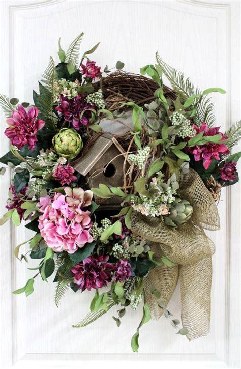 elegant country wreath front door wreath rustic