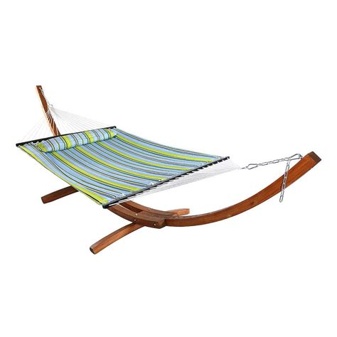 3 Person Hammock by Sunnydaze Decor 11 3 4 Ft Quilted 2 Person Hammock With