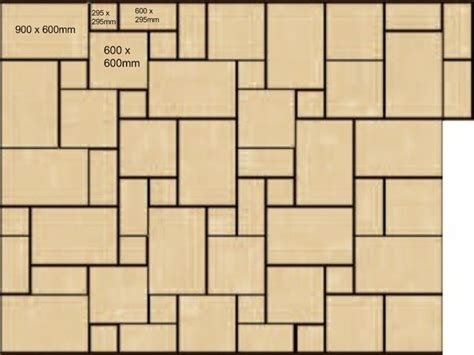 sandstone paving patterns slabbing patterns