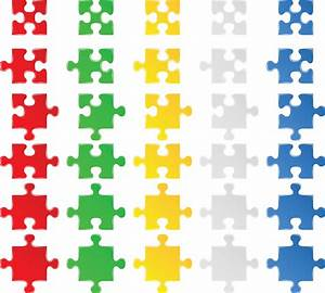 14 Free Puzzle Vector Images - Puzzle Vector Free Download ...