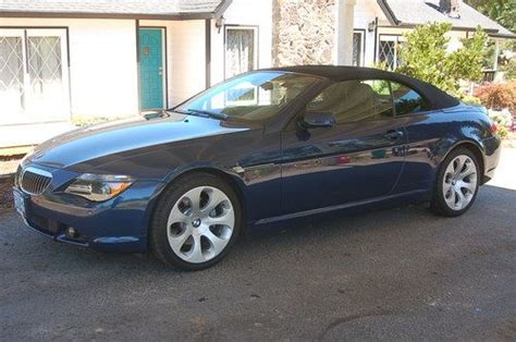 Sell Used 2004 Bmw 645ci Base Convertible 2-door 4.4l In