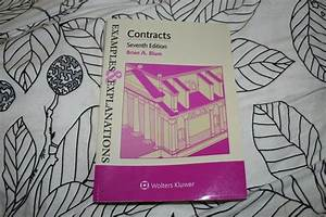 Examples And Explanations  Examples And Explanations For Contracts By Brian     Education