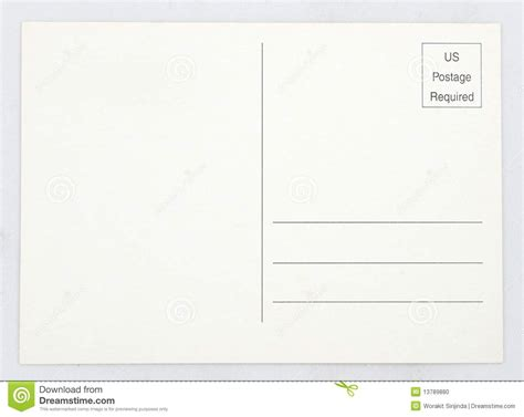 blank postcard blank postcard stock photo image of elemental copy 13789880