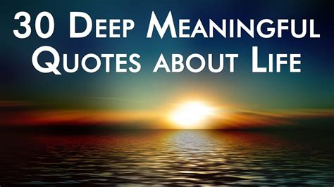 deep meaningful quotes  life youtube