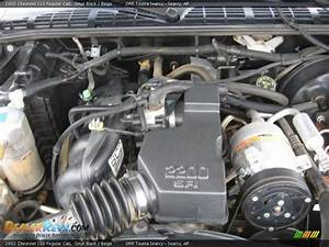 2002 Chevrolet S10 Regular Cab 2 2 Liter Ohv 8