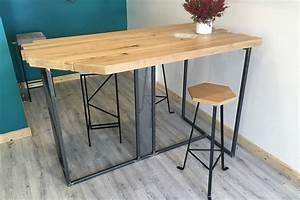 Table Haute Et Tabouret : banc sur mesure l 39 atelier urbain lyon ~ Teatrodelosmanantiales.com Idées de Décoration