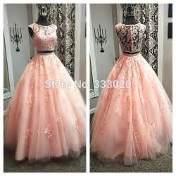 purple dresses for weddings gown blush pink two crop top prom dress floor length beaded lace tulle formal