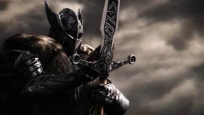 Knight Knights Warrior Armor Helmet Wallpapers Skyrim