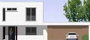 Haus Mit Integrierter Garage : individuell geplant markantes kleines bauhaus mit integrierter doppelgarage ~ Frokenaadalensverden.com Haus und Dekorationen