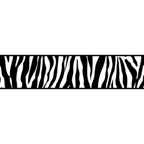 fine decor ceramica zebra animal print  adhesive