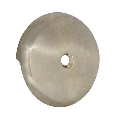 bathtub overflow plate purpose danco tub drain overflow plate in brushed nickel 89235