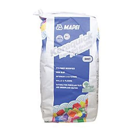 Tile Adhesive Remover Screwfix by Mapei Keraquick Rapid Set Tile Adhesive Grey 10kg