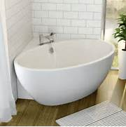 Freestanding Tub In Corner by Affine Fontaine Corner Freestanding Bath 1510mm X 935mm With Built In Waste