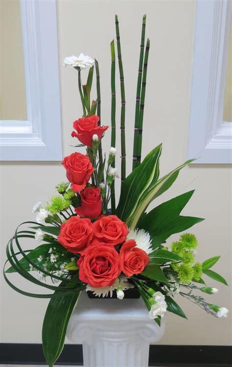 church flowers images  pinterest alter