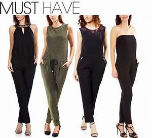 Combinaison Pantalon Femme Habillée : comment porter la combinaison l 39 hiver ~ Carolinahurricanesstore.com Idées de Décoration