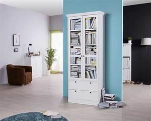 Vitrine Landhausstil Weiß : vitrine im landhausstil wei kaufen bei ~ Whattoseeinmadrid.com Haus und Dekorationen