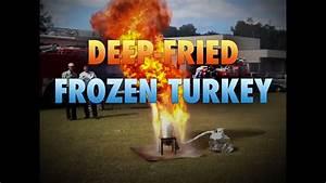Deep Frying A Frozen Thanksgiving Turkey YouTube