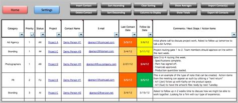 multiple project tracking template excel printable
