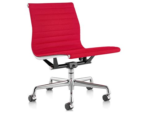 eames 174 aluminum management chair with no arms