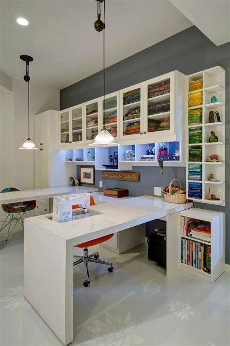 23 Craft Room Design Ideas (creative Rooms