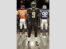 New Orleans Saints debut sleeker uniform with modest