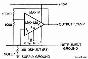 Current Shunt Amplifier - Amplifier Circuit