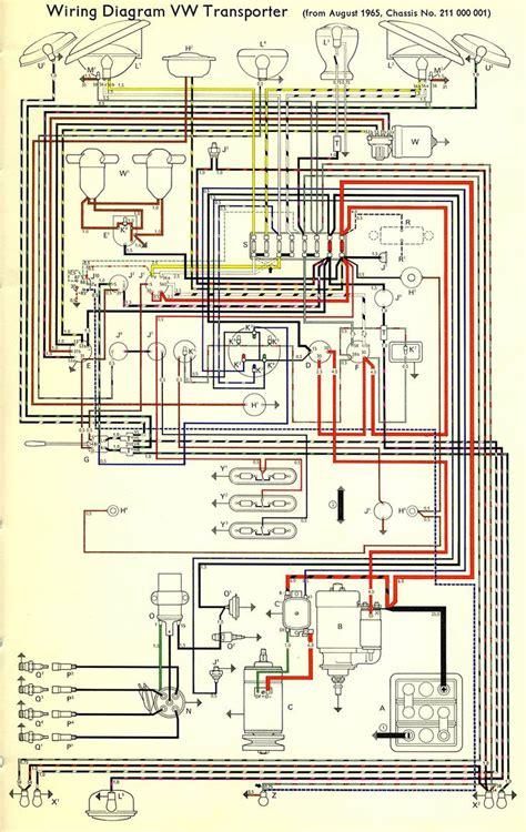 wiring diagram vw transporter the samba bay pride volkswagen diagram wire