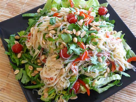 thai salad rachel green s thai noodle salad recipe dishmaps