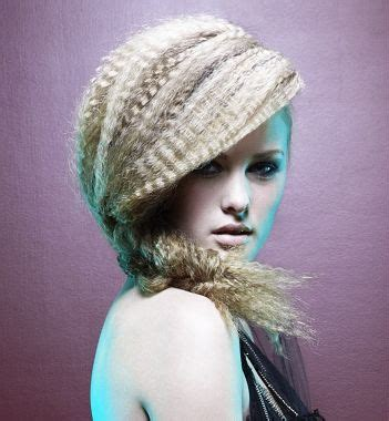 hair crimping styles 1000 images about braid bun and ponytail hairstyles on 2363