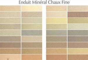 Enduit à La Chaux : nuancier peinture pas cher ~ Dailycaller-alerts.com Idées de Décoration