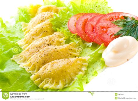 Traditional Russian Food Stock Photo Image Of Tortellini