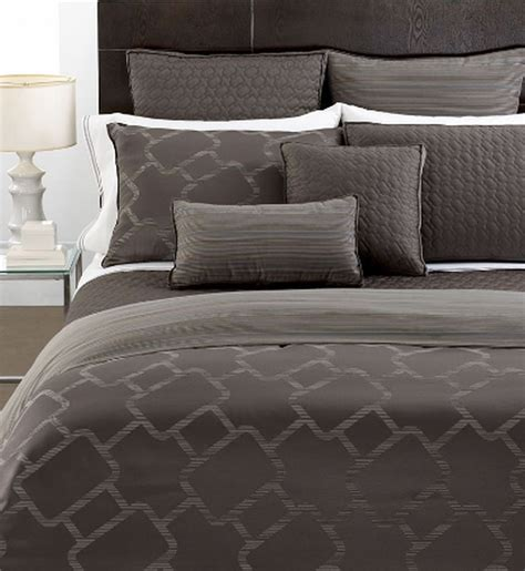 Hotel Collection Coverlet by Hotel Collection Bedding Gridwork 16 Quot Square Decorative