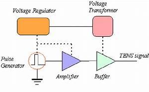 Circuit Block Diagram Of Tens Signal Generator