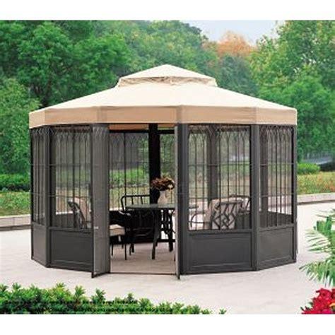 garden winds gazebo garden winds replacement canopy for sams club sunhouse