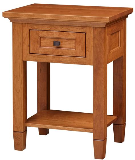 Open Nightstand by Kearny Open Nightstand Countryside Amish Furniture