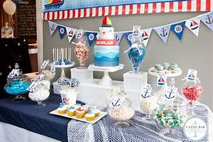 How to create nautical theme candy bars and parties