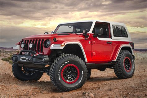 moab jeep concept jeep unwraps jeepster concept for moab easter safari