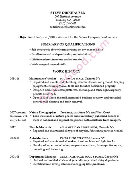 resume exles without a college degree resume ixiplay