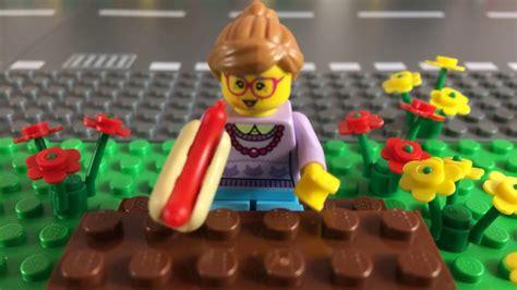 Lego City Hot Dog Man