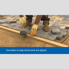 How To Lay A Driveway  Bradstone  Youtube